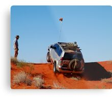 Up and Over...1,100 Times! Metal Print
