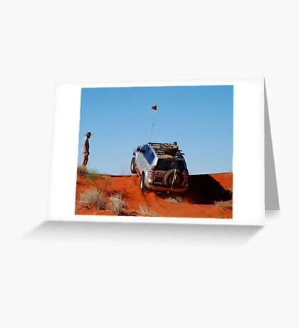 Up and Over...1,100 Times! Greeting Card