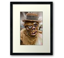 Happy Halloween (The colorized version) Framed Print