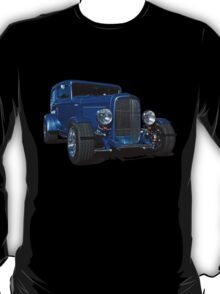 Blue Ford Hot Rod T-Shirt