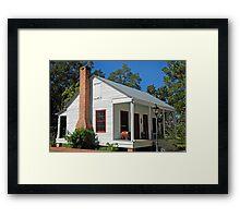 Little Cajun Cottage Framed Print