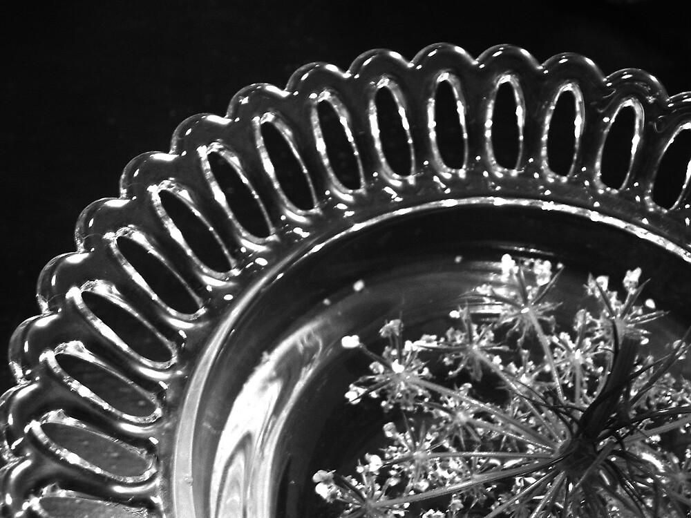 queen ann's lacey bowl by Katie Hoisington