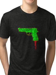 Hardwired for Violence (Generation Death) Tri-blend T-Shirt