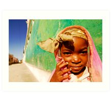 Art in All of Us in Mozambique Art Print