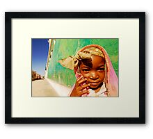 Art in All of Us in Mozambique Framed Print