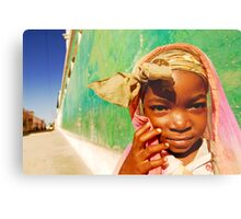 Art in All of Us in Mozambique Metal Print