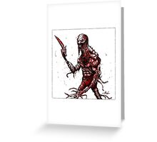 KNIFE PARTY Greeting Card