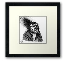Zombie Michael Framed Print