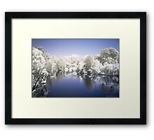 A Tear In The Open Framed Print