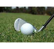 Golf - the perfect game Photographic Print