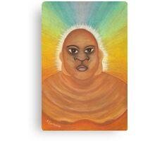 Budda Man Canvas Print
