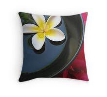 Aromatherapy Bowl Throw Pillow