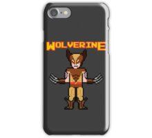 8Bit Wolverine (Brown) iPhone Case/Skin