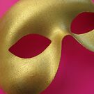 Gold Mask by Ye Liew
