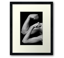 Twice the Power Framed Print