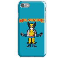 8Bit Wolverine iPhone Case/Skin