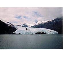 Portage Glacier - Alaska Photographic Print