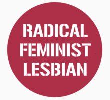 Radical Feminist Lesbian Kids Tee