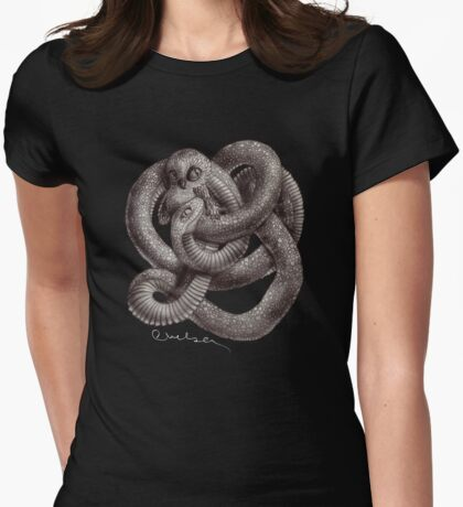 Twisted Womens Fitted T-Shirt
