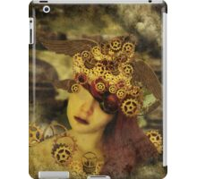 The clockwork tells me what to see iPad Case/Skin