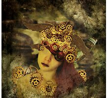 The clockwork tells me what to see Photographic Print