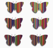 Flutterbye stripes T-Shirt