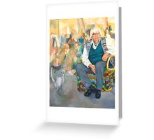 Ron Hartree, Artist, Teacher, Humanitarian Greeting Card