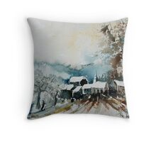 WATERCOLOR 270607 Throw Pillow