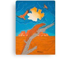 Desert Lands Canvas Print