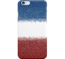 Songs of Angry Men iPhone Case/Skin