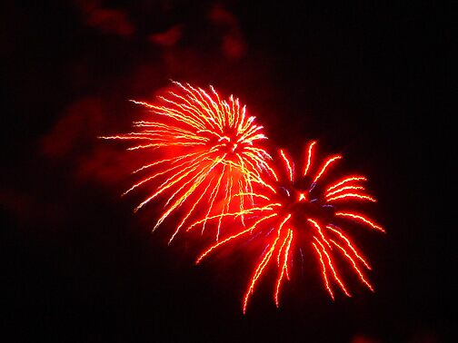 Fireworks Picture 3 by Arlita Marie Moles