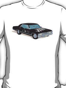 SuperWhoLocked in the Impala T-Shirt
