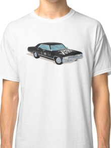 SuperWhoLocked in the Impala Classic T-Shirt
