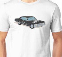 SuperWhoLocked in the Impala Unisex T-Shirt