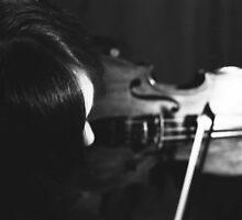 Violin by Cassandra Mann