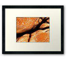 Red Rocks... Framed Print