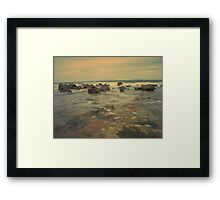 first attempt seascape Framed Print