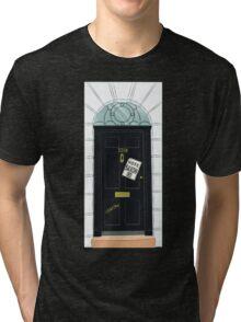 SuperWhoLocked in 221B Tri-blend T-Shirt
