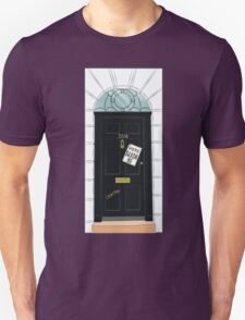 SuperWhoLocked in 221B T-Shirt