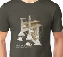 Weapons of Mass Construction Unisex T-Shirt