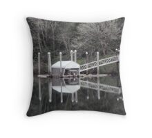 Siuslaw River 1 Throw Pillow