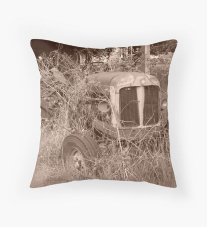 Tractor 2 Throw Pillow