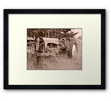 Tractor 1 Framed Print