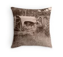 Tractor 1 Throw Pillow