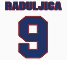 Basketball player Miroslav Raduljica jersey 9 by imsport
