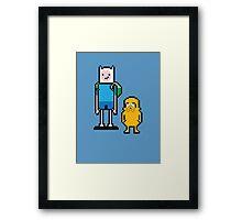 Pixel Adventure Framed Print