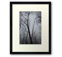 bushfired Framed Print