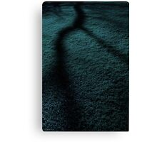 Cold Tree V (blue) Canvas Print
