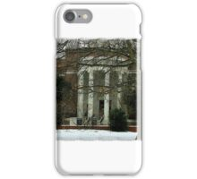 Snowy Library iPhone Case/Skin