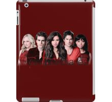 The Vampire Diaries Cast   Red iPad Case/Skin